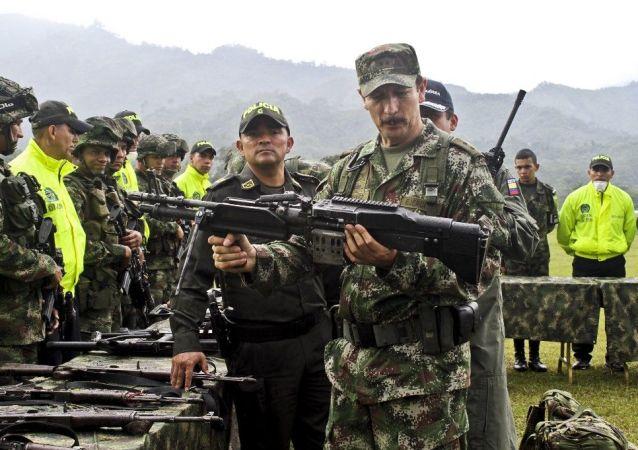 Comandante en jefe del Ejército de Colombia Nicacio Martínez Espinel
