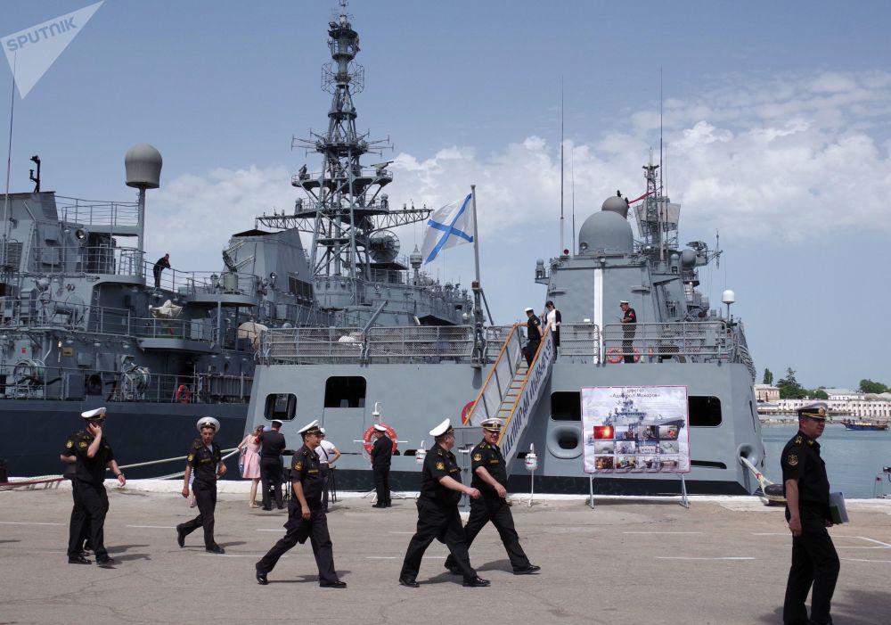Sebastopol, el gran muelle de la Flota del Mar Negro de Rusia
