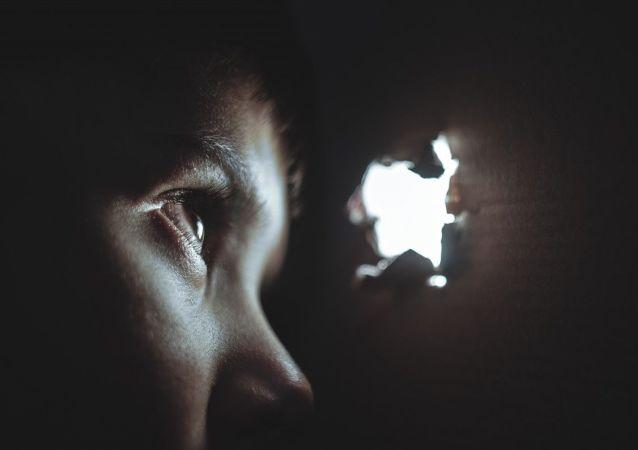 Un niño que sufre
