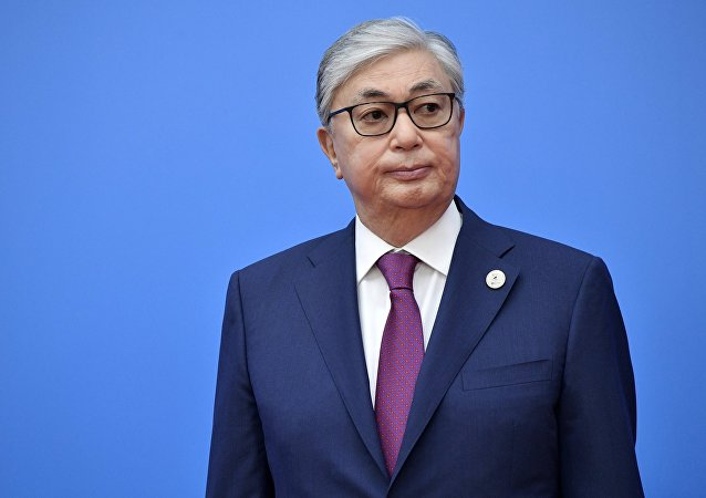 Kasim-Zhomart Tokáev, presidente en funciones de Kazajistán (archivo)