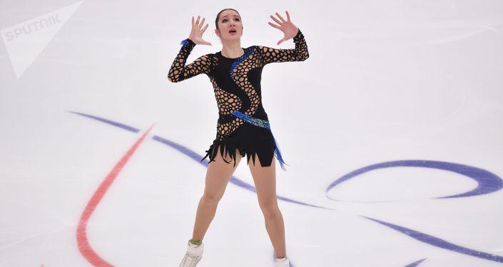 Polina Tsúrskaya, patinadora rusa