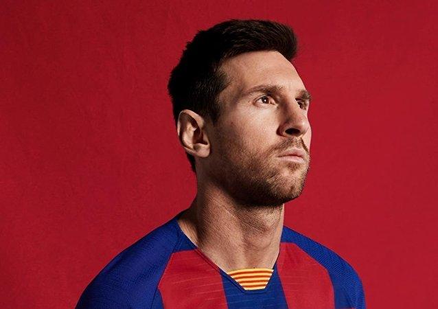 Lionel Messi, de FC Barcelona