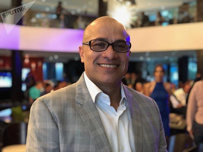 Marvin Linares es el presidente de Albatross Airlines, una compañía venezolana que conecta Punto Fijo con el aeropuerto internacional Simón Bolívar de Caracas