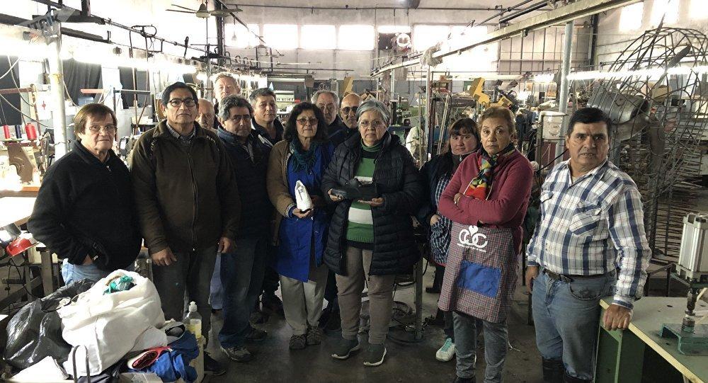 En la Cooperativa Unidos por el Calzado trabajan 41 operarios, que decidieron el camino de la autogestión para evitar el cierre de su fábrica