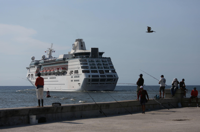 El crucero Empress of the Seas