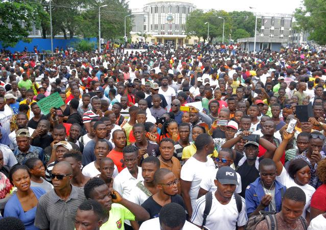 Protestas en Liberia