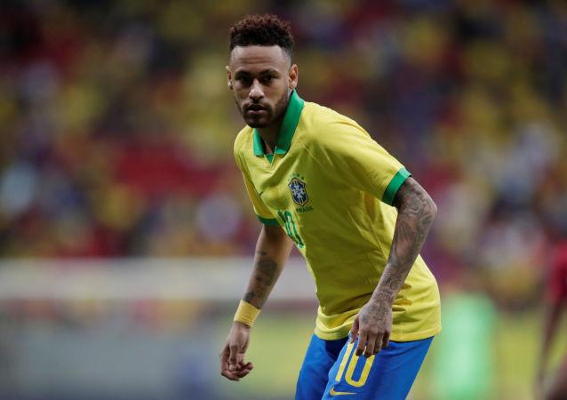 Neymar, futbolista brasileño