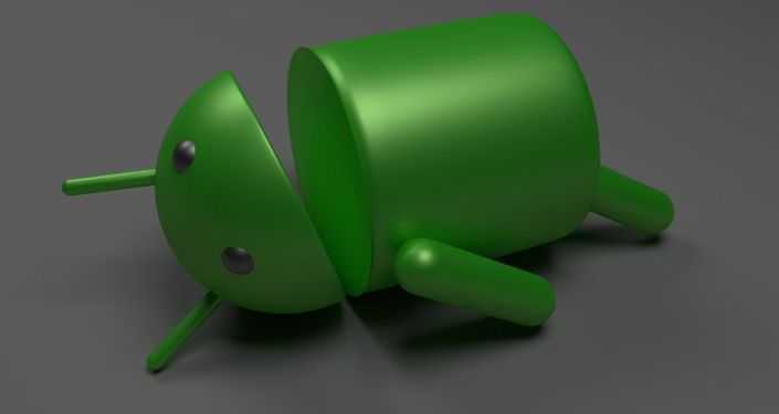 Android roto, referencial
