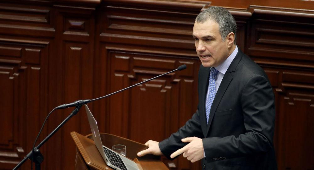 Salvador del Solar, primer ministro de Perú (archivo)