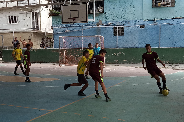 Los juegos comunales de Caracas son un espacio de desarrollo personal y de encuentro social