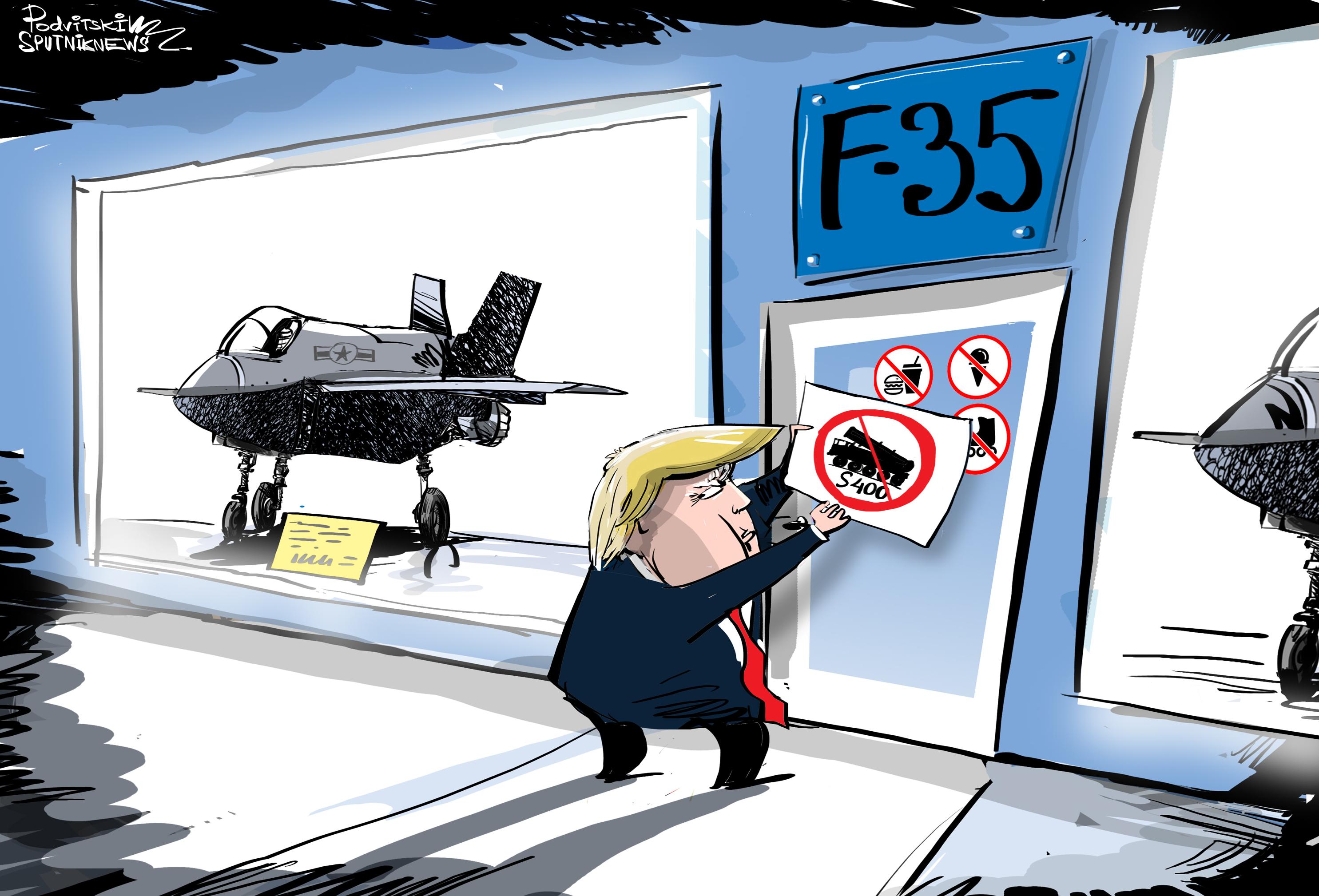 Los S-400 rusos y F-35 estadounidenses no pueden convivir