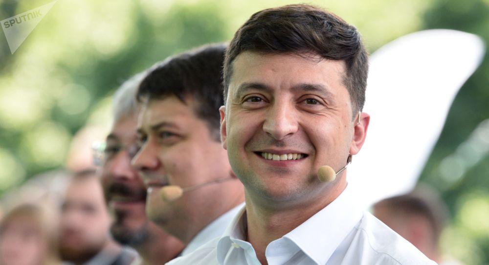 El líder ucraniano, Volodímir Zelenski