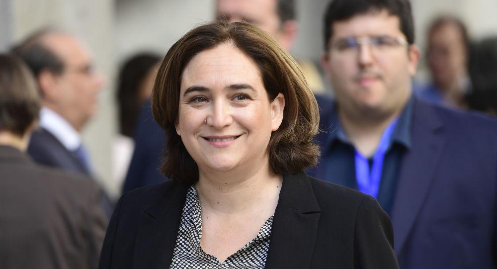 Ada Cola, alcaldesa de Barcelona, España