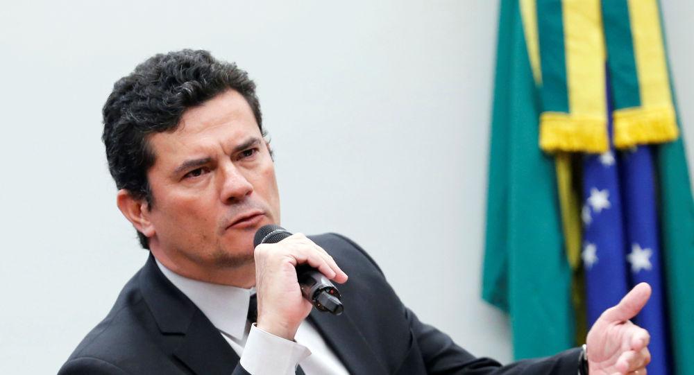 Sérgio Moro, juez brasileño