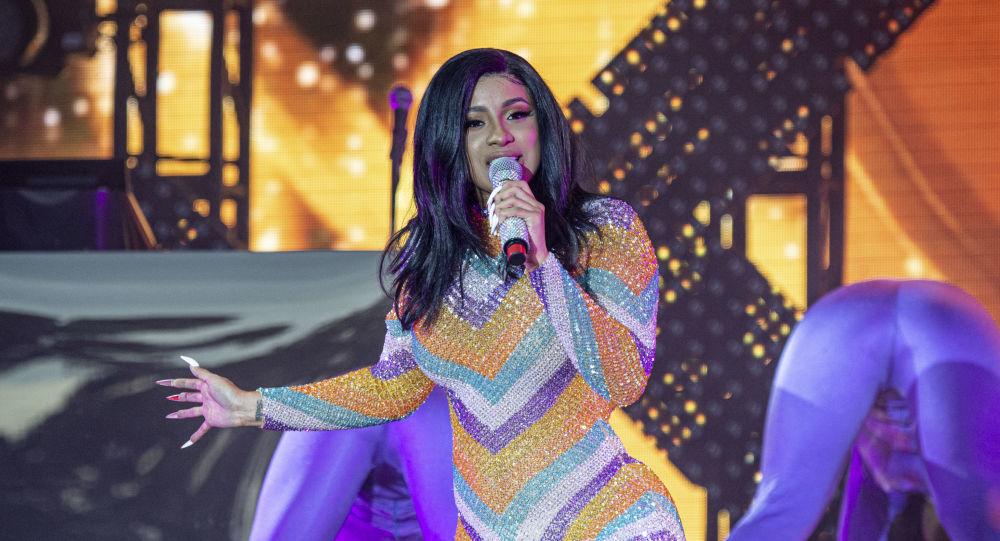 Cardi B, rapera estadounidense