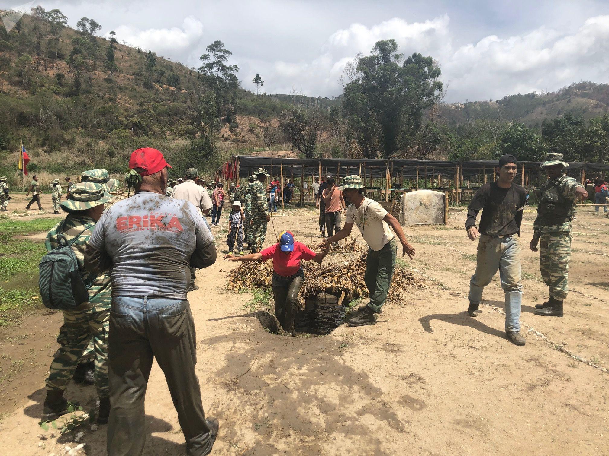 El Método Táctico de Resistencia Revolucionaria se basa en contar con patriotas cooperantes en todos los territorios, explica el mayor Jesús Orozco, del Ejército de Venezuela