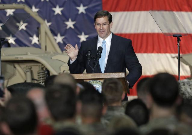 El nuevo secretario interino de Defensa de EEUU, Mark Esper