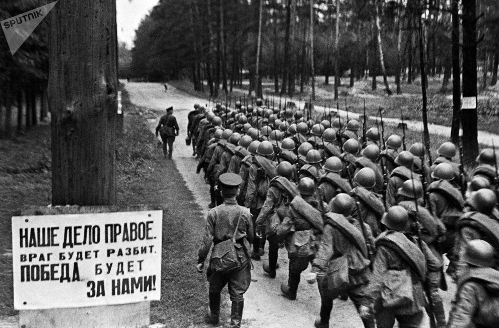 Los primeros días de la Gran Guerra Patria