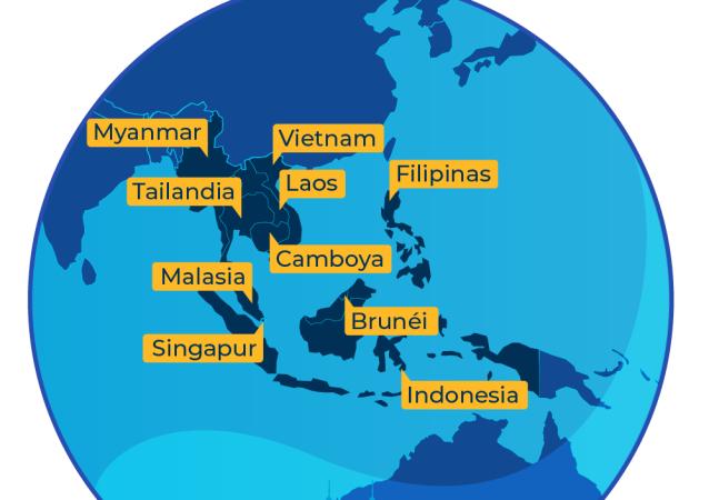 ¿Qué es la Asociación de Naciones del Sudeste Asiático?