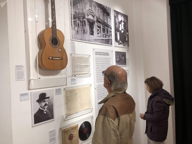 El museo Casa Carlos Gardel en Buenos Aires