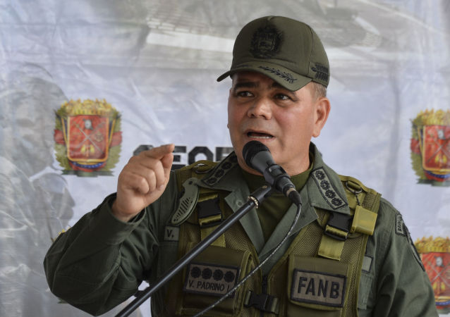 Vladimir Padrino López, ministro de Defensa de Venezuela