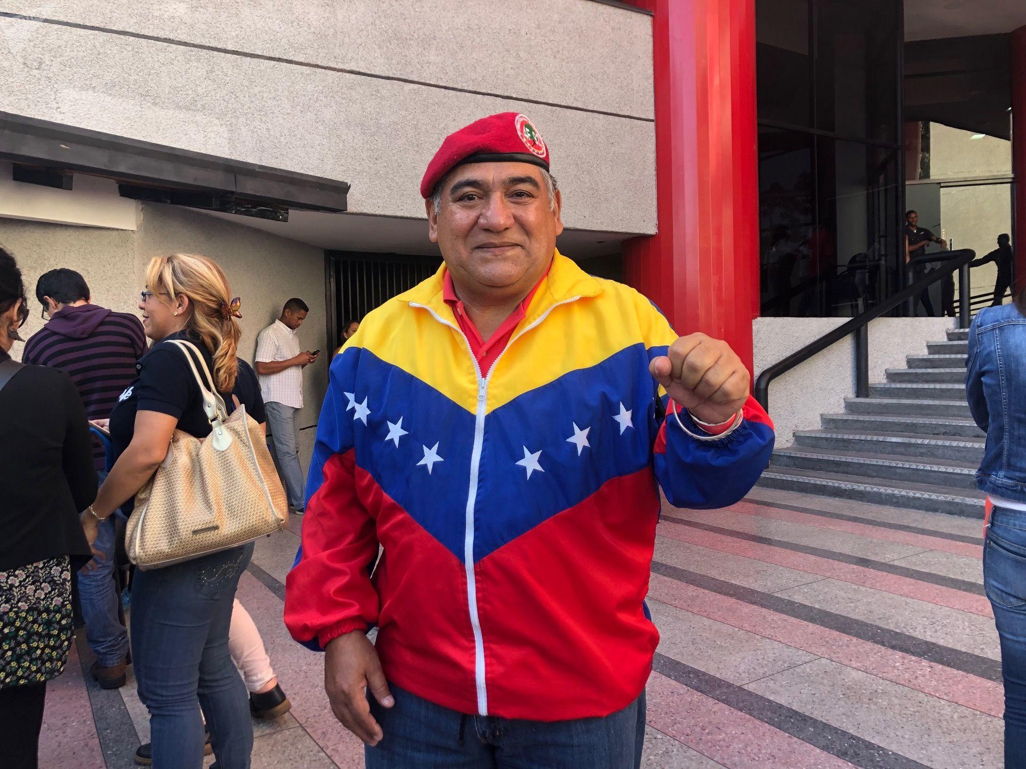 El mayor Fran Morales fue a la última edición de 'Con el mazo dando': este constituyente participó activamente de la Revolución bolivariana y estuvo con Chávez en su intento de golpe de Estado a Carlos Andrés Pérez en 1992