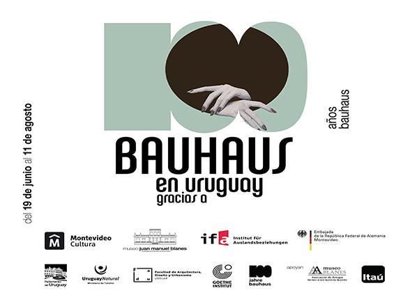 Afiche exposición El mundo entero es una Bauhaus