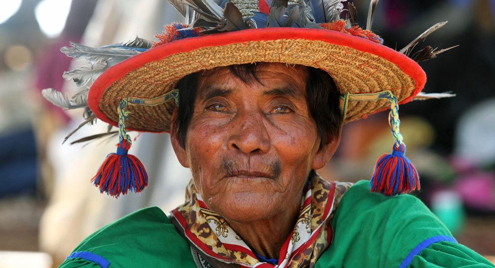 Un representante de los pueblos indígenas en México (imagen referencial)