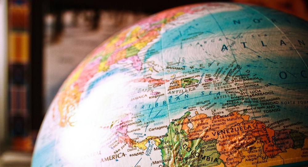 Mapa de América del Sur (imagen referencial)