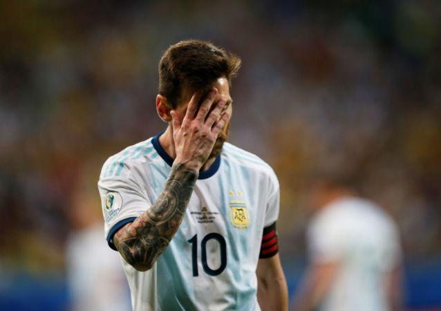Lionel Messi, capitán de la selección argentina