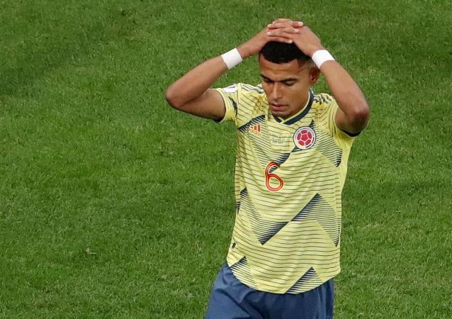 William Tesillo, jugador de la selección de fútbol de Colombia