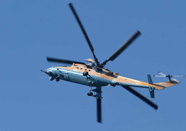 Helicóptero de ataque Mi-35M
