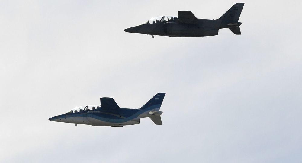 Los aviones de caza argentinos Pampa III