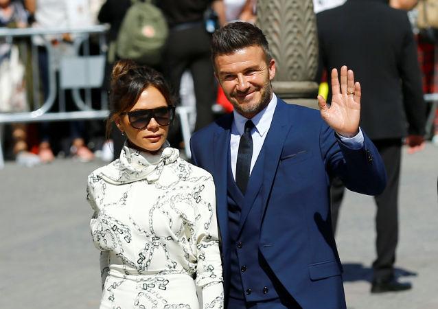 David y Victoria Beckham celebran 20 años de casados