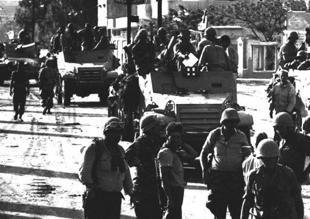 Fuerzas israelíes en Gaza, 7 de junio de 1967