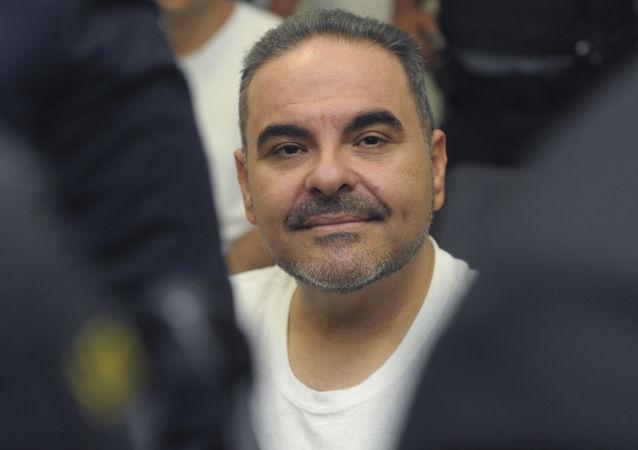 Antonio Saca, expresidente de El Salvador (archivo)