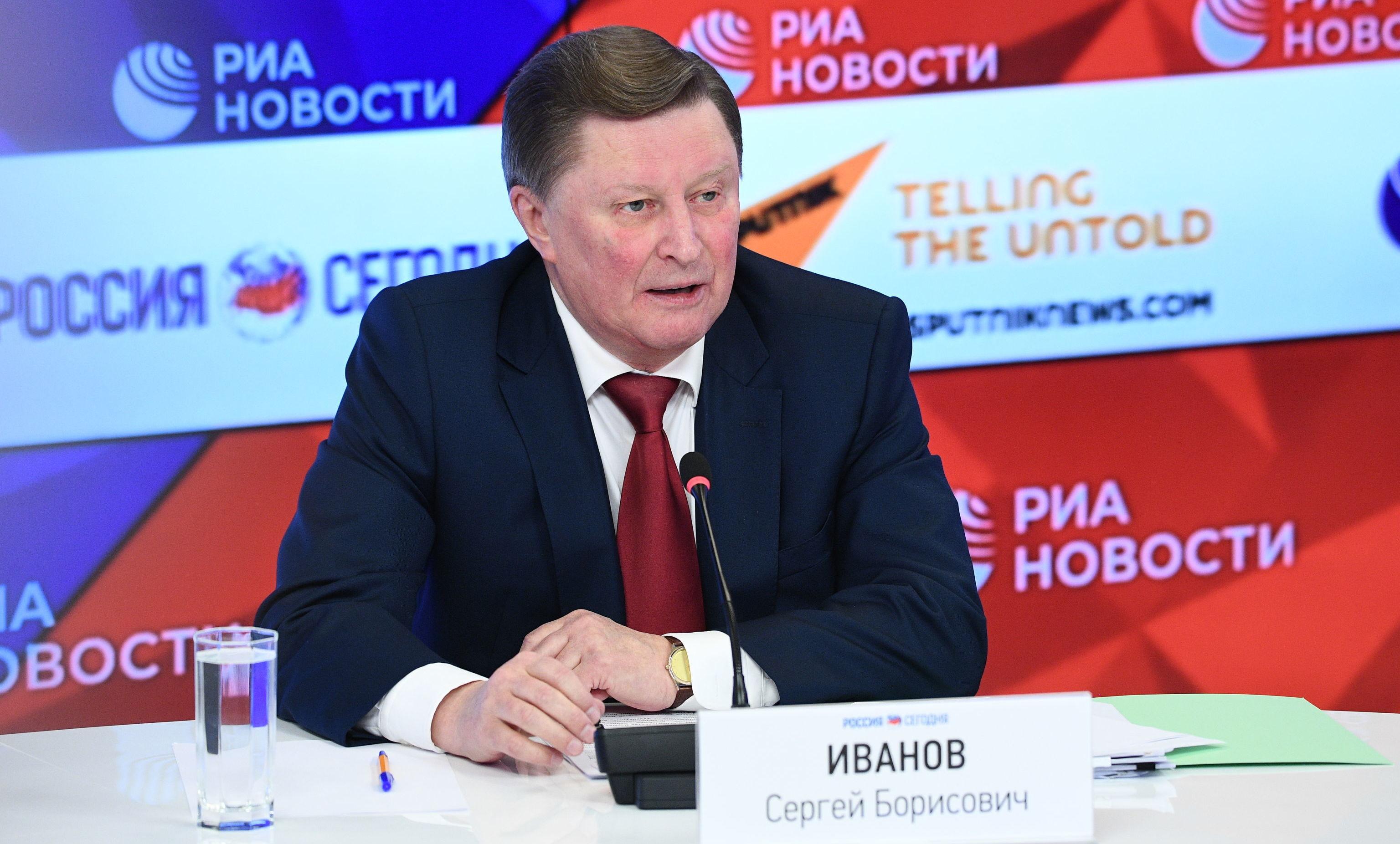 Serguéi Ivanov, exministro de Defensa de Rusia