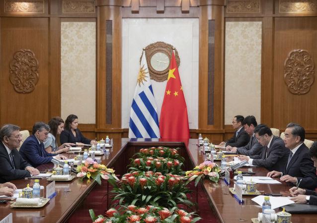 Negociaciones entre China y Uruguay