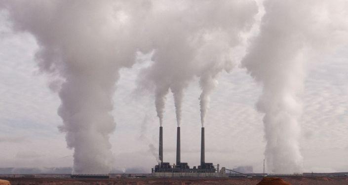 Contaminación de aire (imagen referencial)