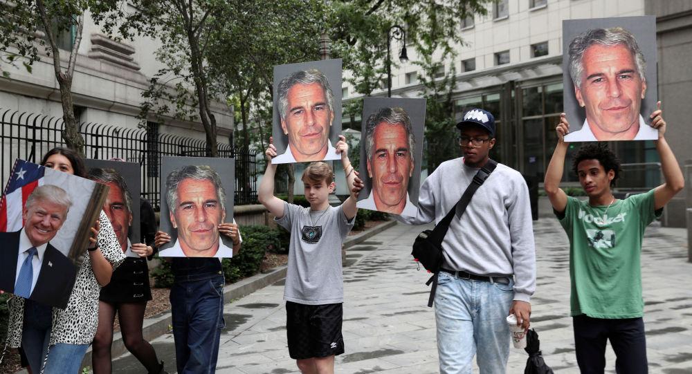 Los retratos de Jeffrey Epstein, multimillionario estadounidense