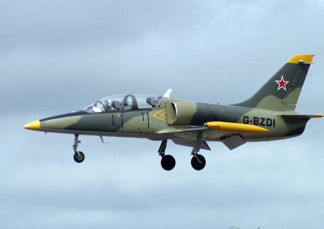 Un avión L-39 (imagen referencial)