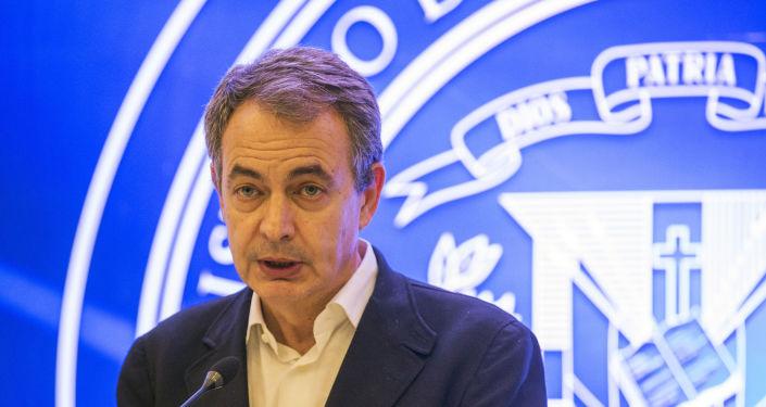 Expresidente del Gobierno español José Luis Rodríguez Zapatero