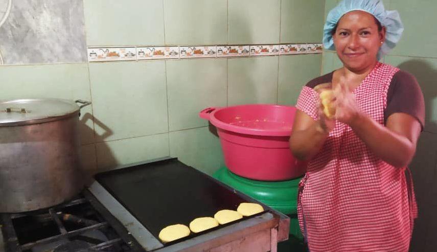 Casa de Alimentación Luchadoras de la Patria, en Caracas, Venezuela