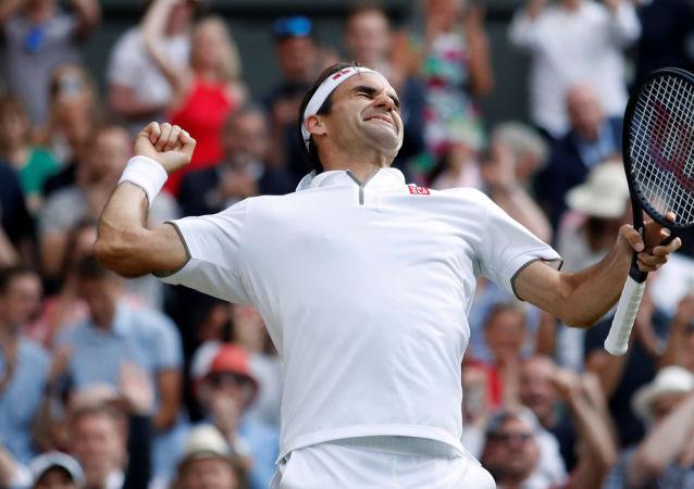 Roger Federer, el tenista suizo