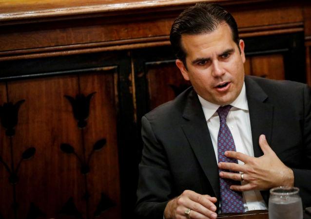 Ricardo Rosselló, el gobernador de Puerto Rico