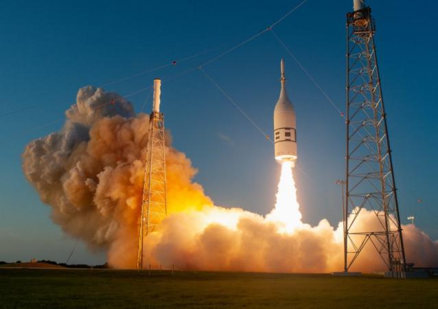 La cápsula Orion de la NASA despega desde Cabo Cañaveral el 2 de julio