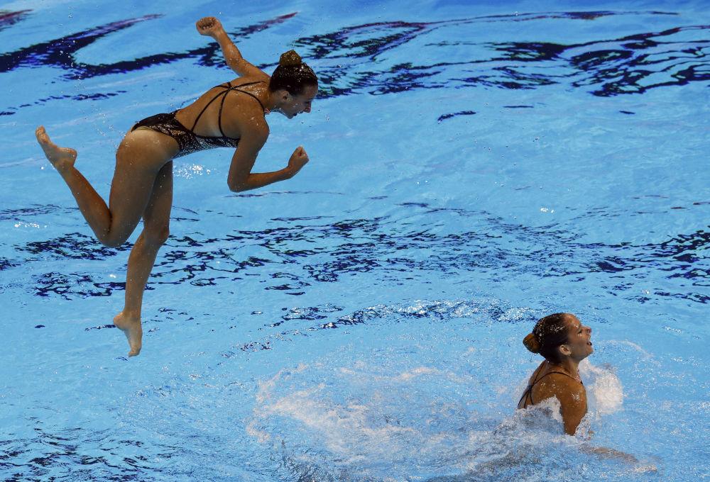 Elegancia subacuática: Corea del Sur alberga el Campeonato Mundial de Natación
