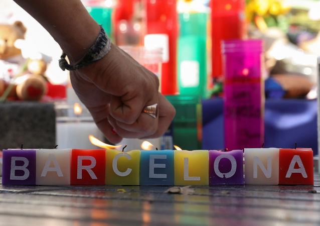 Homenaje a las víctimas del atentado en Barcelona
