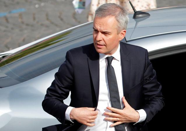 Francois de Rugy, ministro francés de Ecología