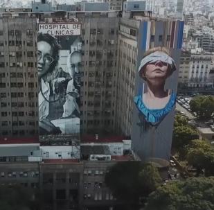 Tres murales en Argentina para recordar el atentado a la AMIA